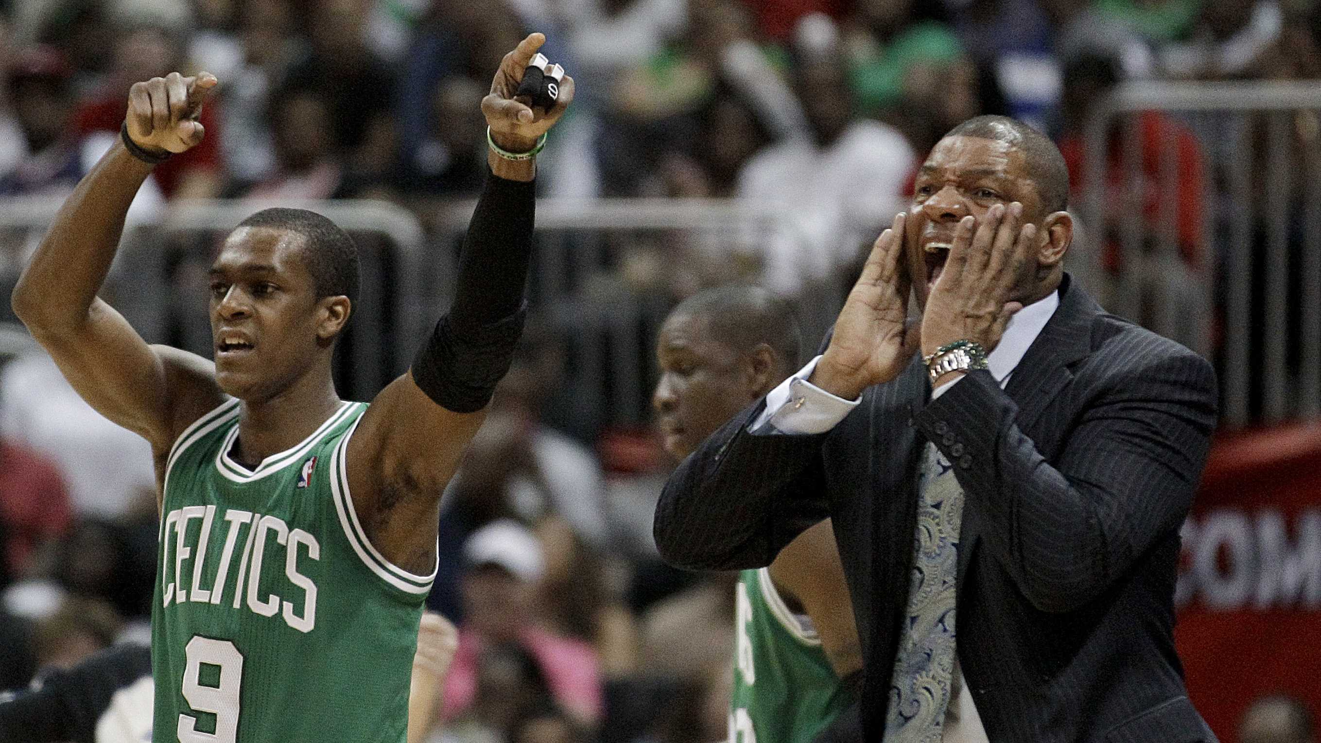 Rajon Rondo, Doc Rivers vs. Atlanta