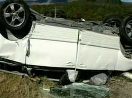A New Zealand police official said it was not clear why the van drifted to the side of the road.