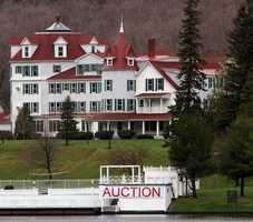 The Balsams is known for hosting the earliest voting in the state's first-in-the-nation presidential primary. The auction in the latest step toward restoring it.