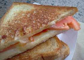 The Rookie Melt, Roxy's standard grilled cheese