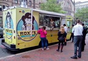 There's usually a line at Roxy's, but the grilled cheese is worth the wait