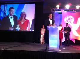 WCVB-TV's Richard Feindel and Matt Lebowitz won an EMMY for Outstanding News Promotion Campaign.