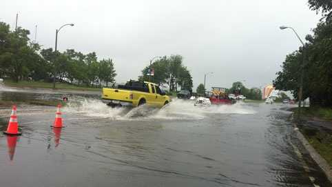 Morrisey Blvd flooding