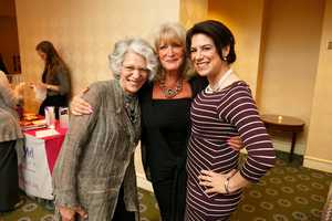 Ellie Fund Executive Director Julie Nations, Susan Wornick and Julie's mother Miriam