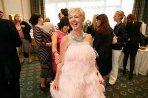 Breast cancer survivor and author Elisha Daniels