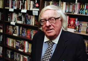 "Science fiction author Ray Bradbury's imagination yielded classic books such as ""Fahrenheit 451,"" ""The Martian Chronicles"" and ""Something Wicked This Way Comes."" (August 22, 1920 — June 5, 2012)"