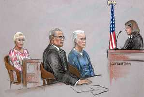 """There is no evidence that Greig was anything other than a full and willing partner to Bulger during their stay in Santa Monica, the government charged. """"Greig was with Bulger because she wanted to be with him."""""""