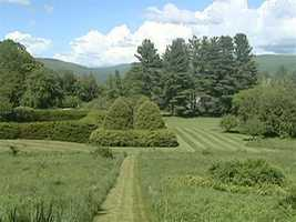 The property features the amazings views and natural beauty of the Berkshires.