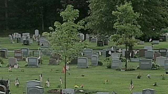 NATICK CEMETERY ROBBERY-TAPE