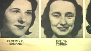 "Beverly Samans, 23, was stabbed to death on May 8, 1963 at 4 University Road in Cambridge.Evelyn Corbin, 58, was sexually assaulted and strangled with her nylon stockings&#x3B; found on September 6, 1963 in Salem.  They were the 10th and 11th ""Strangler"" victims."