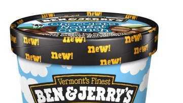 Ben & Jerry's Chocolate Nougat Crunch Ice Cream