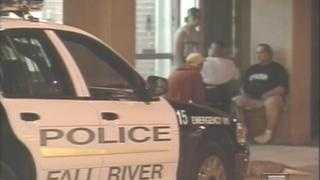 Fall River Police Car, Wheelchair Stabbing Scene - 3483174