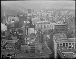 View from the Custom House toward Beacon Hill, 1931.
