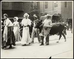 However, this only lasted for a few years, as affluent families bought additional cows, which led to overgrazing.