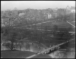 The Common and Public Garden form the northern portion of the Emerald Necklace.