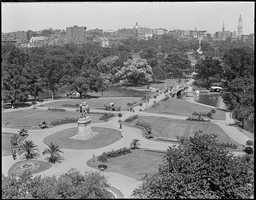 The Public Garden was established in 1837 when philanthropist Horace Gray petitioned for the use of land as the first public botanical garden in the country.