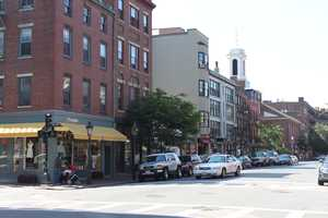 Today bustling Charles Street boats a number of antique stores.