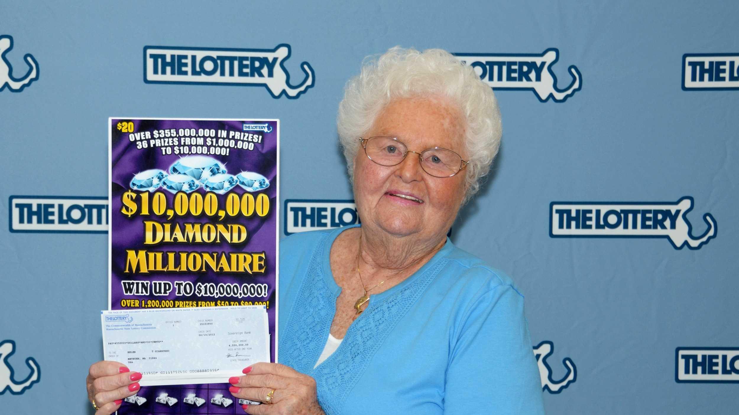 Lottery winner helen Giarrusso