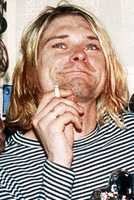 Kurt Cobain was best known as the lead singer and guitarist of the grunge band Nirvana. During the last years of his life, Cobain struggled with heroin addiction  and depression.  He used a shotgun to kill himself. (February 20, 1967 – April 5, 1994)