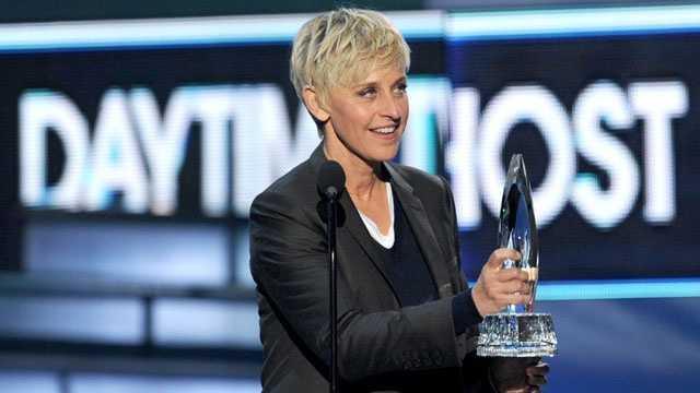 Gay celebrities -Ellen DeGeneres