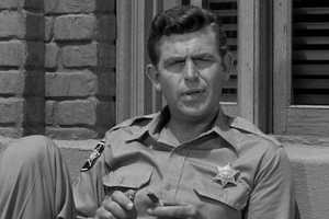 """Andy Griffith made homespun Southern wisdom his trademark as the wise sheriff in """"The Andy Griffith Show"""" and the rumpled defense lawyer in """"Matlock.""""(June 1, 1926 – July 3, 2012)"""