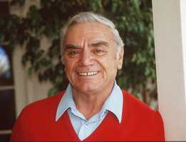 "Ernest Borgnine was the beefy screen star known for blustery, often villainous roles, but who won the best-actor Oscar for playing against type as a lovesick butcher in ""Marty"" in 1955. (24 January 1917 – 8 July 2012)"