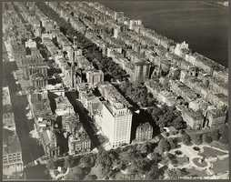 This is a view of the Back Bay looking west from the Public Garden in 1928.