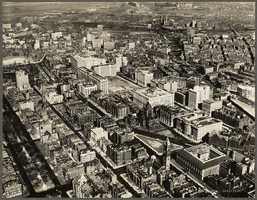 The Copley Square area in 1928
