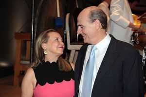 Singer James Taylor is seen here with his wife, Kim.