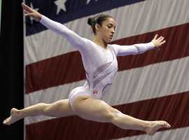 Raisman, who trains in Burlington, got her start in gymnastics by attending Mommy and Me classes as a toddler.
