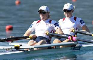 The 2004 Concord-Carlisle High School grad (right) went on to row for the University of Wisconsin.