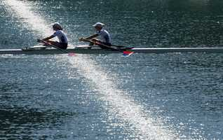 Hestrom first took up rowing at Community Rowing, Inc in Newton during her freshman year of high school.