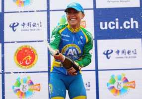 Olds was introduced to cycling in 2005, began riding professionally 2 years later, and is now one of the top female cyclists in the country.