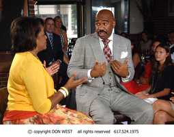 CityLine host, Karen Holmes Ward, discusses family and relationships with Steve Harvey.