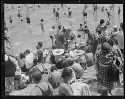 Revere Beach was frequented mostly by the working class and the many immigrants who chose to settle in the area.