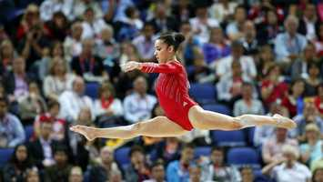 In a sport that embraces grace, Needham's Aly Raisman performs with the kind of grit that would make her fit right in with her beloved Boston Bruins. Her beam routines are rock solid, the sound of her feet hitting the four-inch-wide wood echoing through the gym. Her floor sets are practical, not progressive.