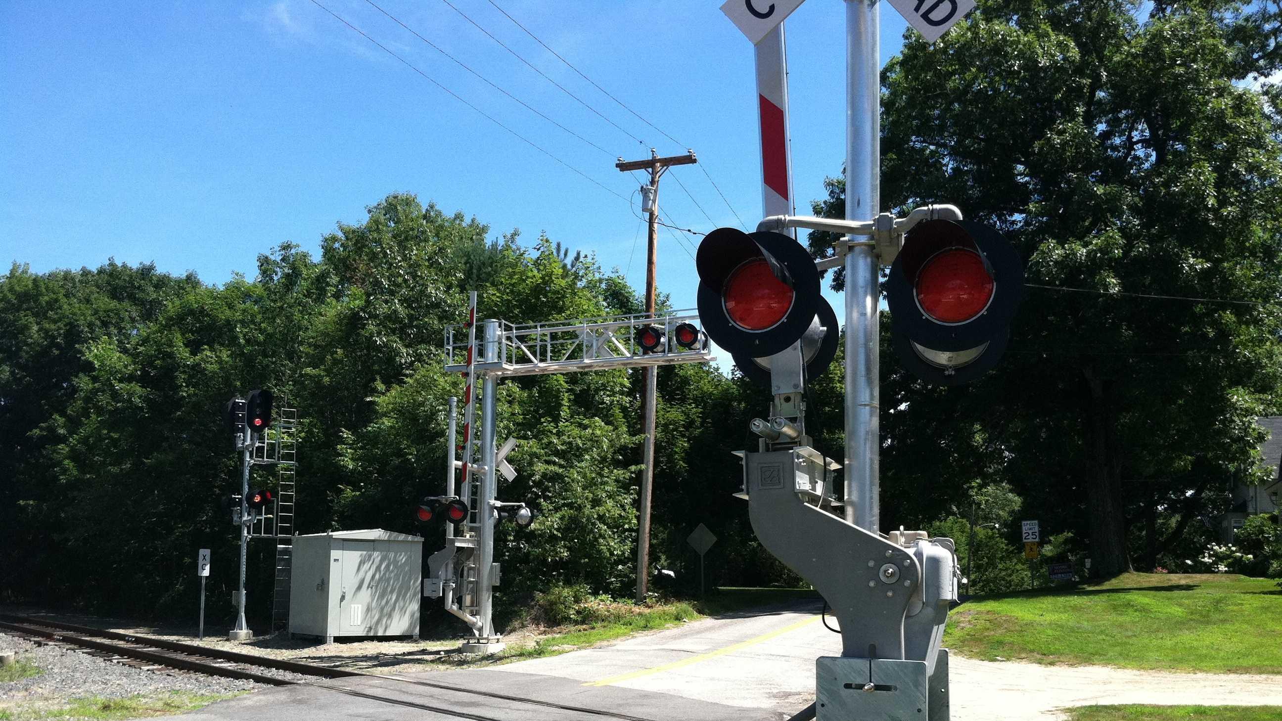 Freeport Train Crossing