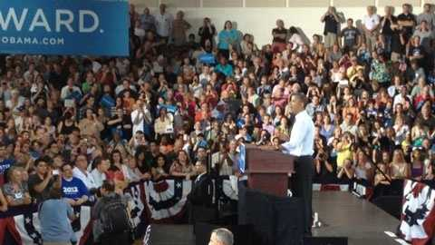 Obama in New Hampshire