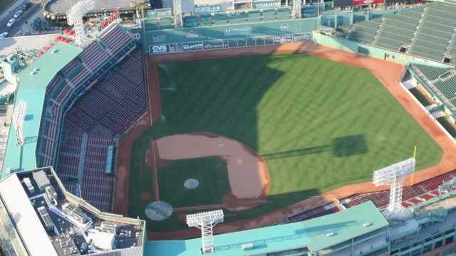 Boston Fenway Park aerial