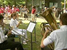 And, like the 4th...Tanglewood on parade happens once a year...