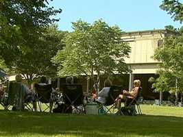 Tanglewood is steeped in traditions and this one goes back to 1946. It is a day for families, friends, and above all music...