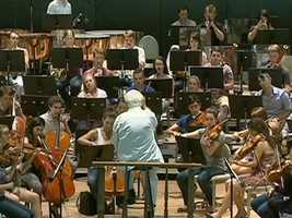 If music were an Olympic event, many of the medal winners would be found here amongst these Tanglewood Fellows-who had to survive rigorous auditions to earn a place here.