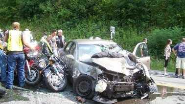 Westmoreland Motorcycle crash