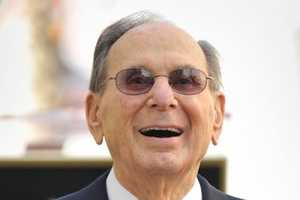 """Hal David was a man of simple words.Through theater, film and TV, David's songs transcended the time they were written to become classics. With Burt Bacharach, he was one of the most successful songwriting teams in modern history.Bacharach and David's hits included """"Raindrops Keep Fallin' On My Head"""" and """"(They Long to Be) Close to You."""" Many of the top acts of their time, from Barbra Streisand to Frank Sinatra and Aretha Franklin, recorded their music.(May 25, 1921 – September 1, 2012)"""