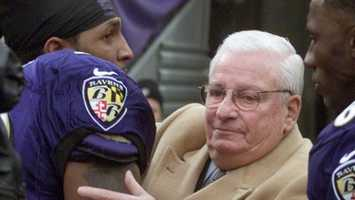 Art Modell was among the most important figures in the NFL as owner of the Cleveland Browns and a league insider. During his four decades as a team owner, he helped negotiate the NFL's lucrative contracts with television networks, served as president of the NFL from 1967 to 1969, and chaired the negotiations for the first the collective bargaining agreement with the players in 1968. (June 23, 1925 - September 6, 2012)Modell, however, made one decision that hounded him the rest of his life. He moved the Cleveland franchise to Baltimore in 1996 and Ohio fans never forgave him for it.