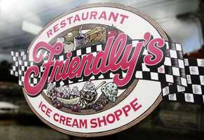 Friendly's was founded in 1935 in Springfield.  While many of its restaurants have closed,  it still manufactures and sells ice cream distributed in over 7,500 supermarkets  nationwide.