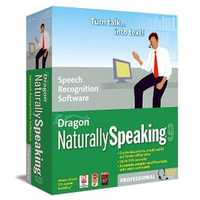 Dragon Naturally Speaking is one product made by Nuance of Burlington which specializes in voice-recognition software.