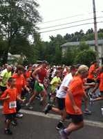 Over 800 runners took part in Sunday's race.