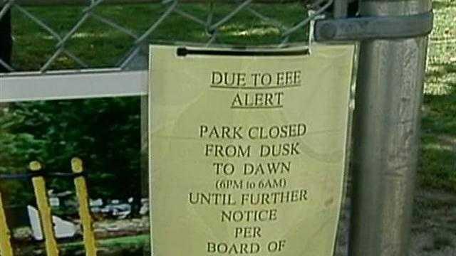 Towns suspend evening activities after girl gets EEE