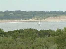 They also have a spectacular view overlooking the salt marsh leading down to the Atlantic ocean near Horseneck Beach.